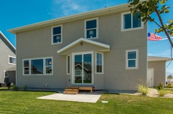 exterior of home built by McArthur Homes