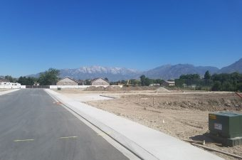 green spring breaking ground for building homes