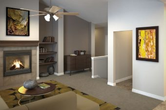 completed a furnished home built by McArthur Homes