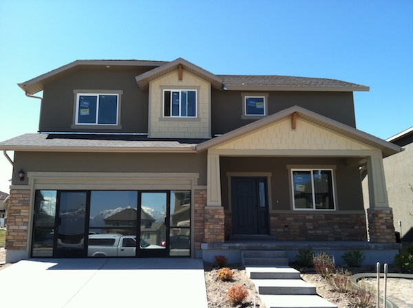 a finished quick move in home by McArthur Homes