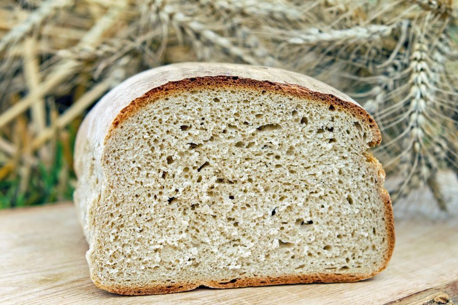 a fresh baked loaf of bread that makes the house smell warm and inviting