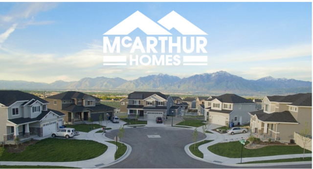 neighborhood built by McArthur Homes