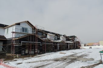 current construction by the home builders McArthur Homes