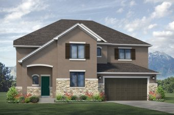 French Rustic Elevation