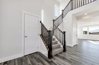 Entryway in the Lindsay floor plan built by McArthur Homes