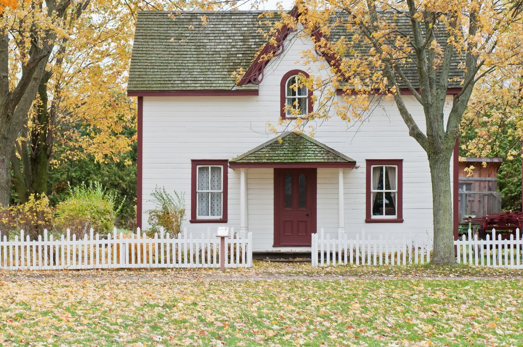 House in Suburban Neighborhood