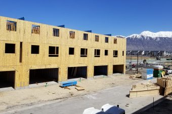 New construction site from McArthur Homes.